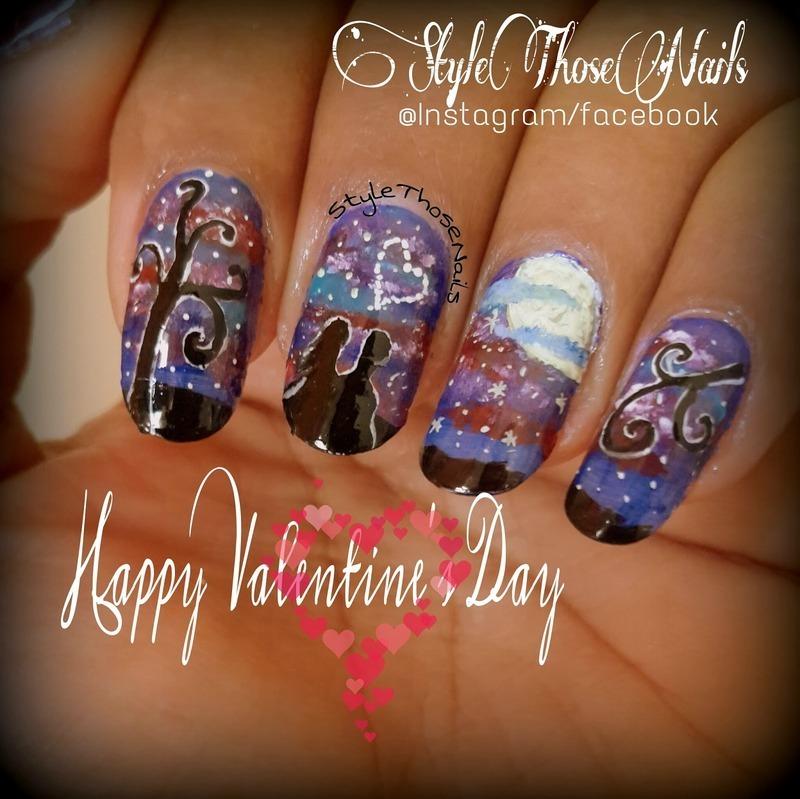 Valentine's Nail nail art by Anita Style Those Nails