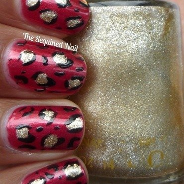 Red leopard print thumb370f
