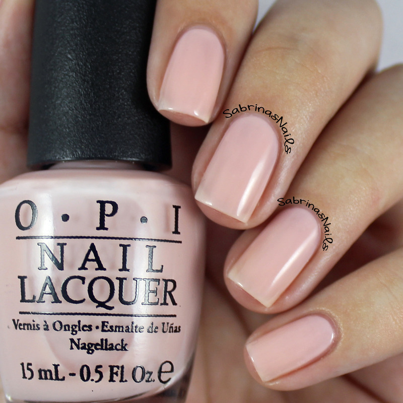 OPI Bubble Bath Swatch by Sabrina