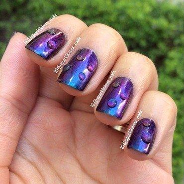 "KBShimmer Shade Shifter Swatch by Amanda ""Sparklicious Nails"""