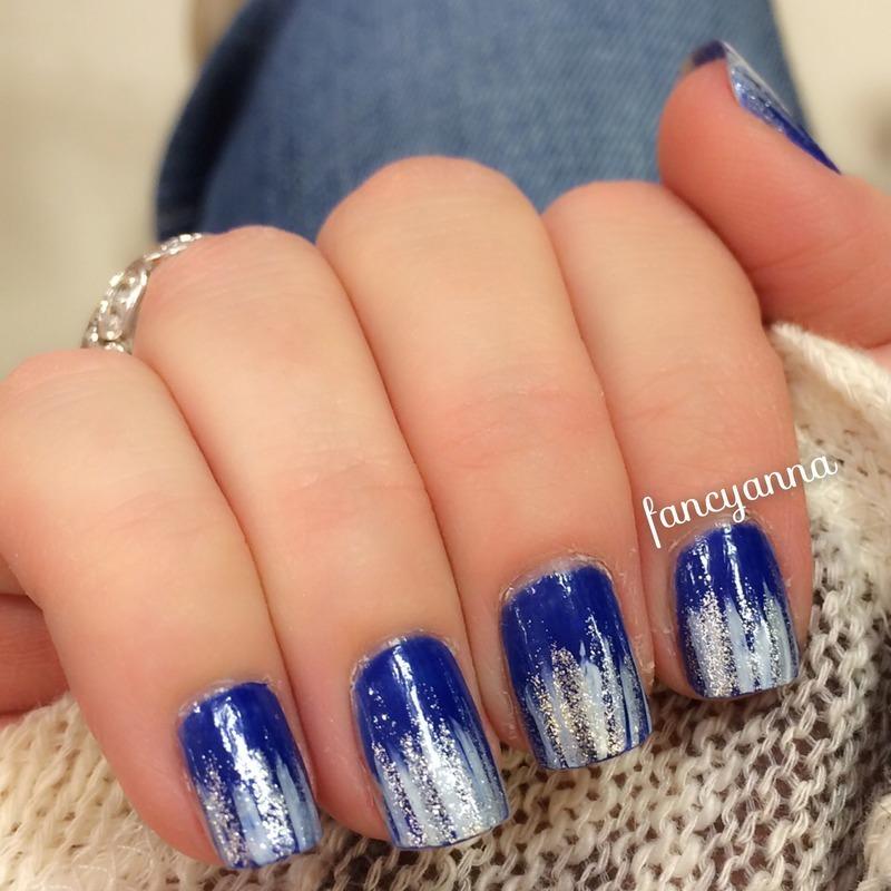 Frozen nail art by Anna-Maria D