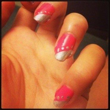 Manucure festive et glamour nail art by Dju Nails