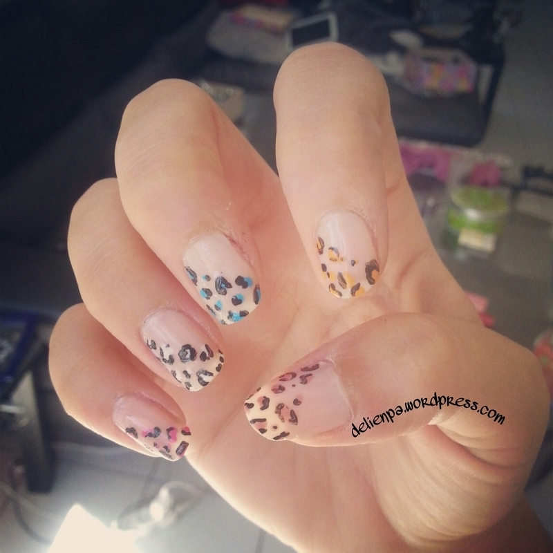 Graou nails nail art by Dju Nails