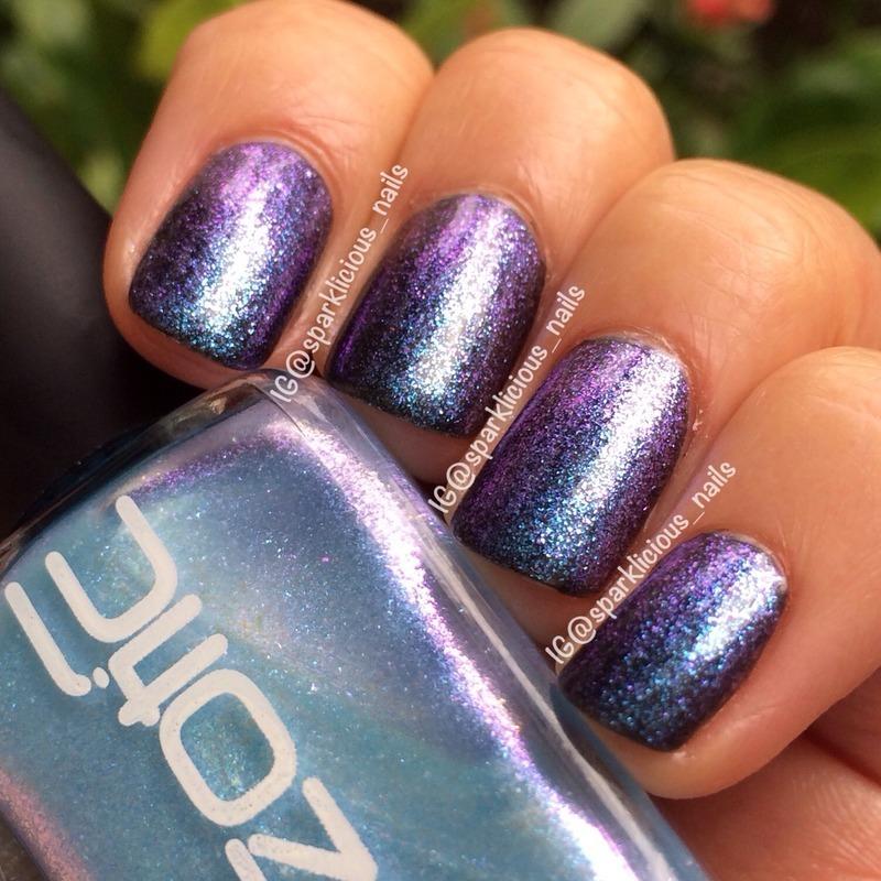"Ozotic Sugar 903 Swatch by Amanda ""Sparklicious Nails"""