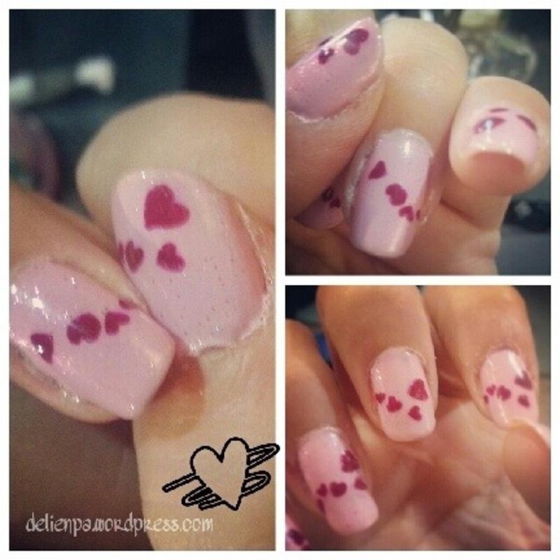Heart Queen Nails nail art by Dju Nails