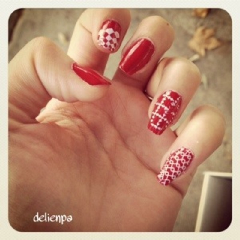 1, 2, 3 stampez ! nail art by Dju Nails