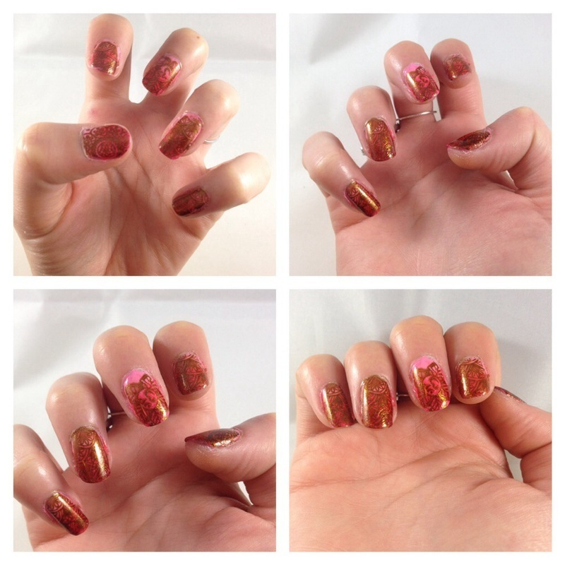 Nailart indien nail art by Dju Nails