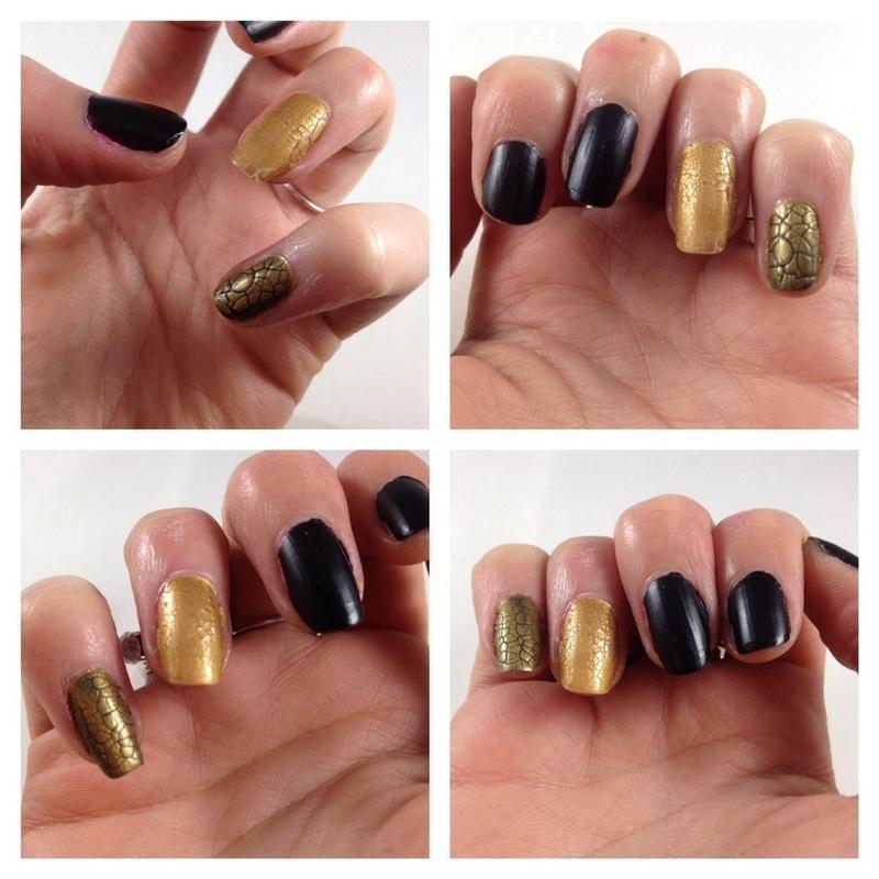 Effet python !! nail art by Dju Nails