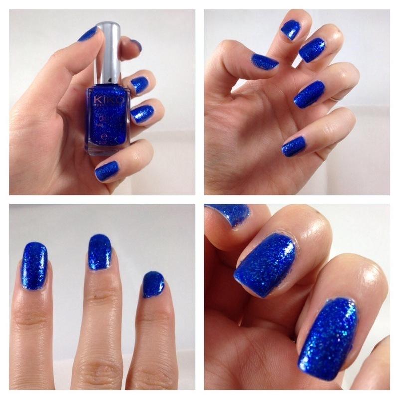 Kiko Electron blue Swatch by Dju Nails