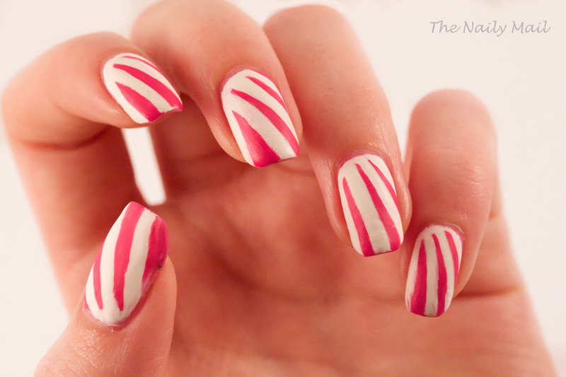 Rays of Sunlight nail art by The Naily Mail