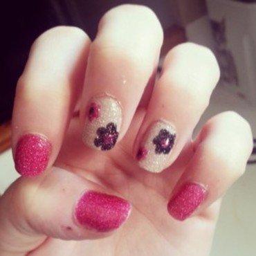 Flowers by zoya nail art by Dju Nails