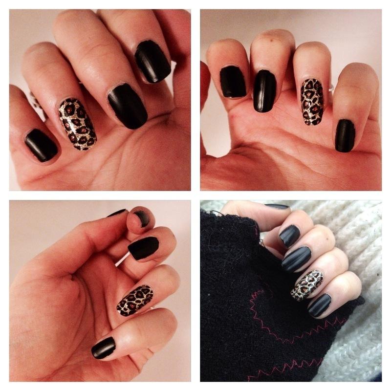 Manucure de soirée nail art by Dju Nails