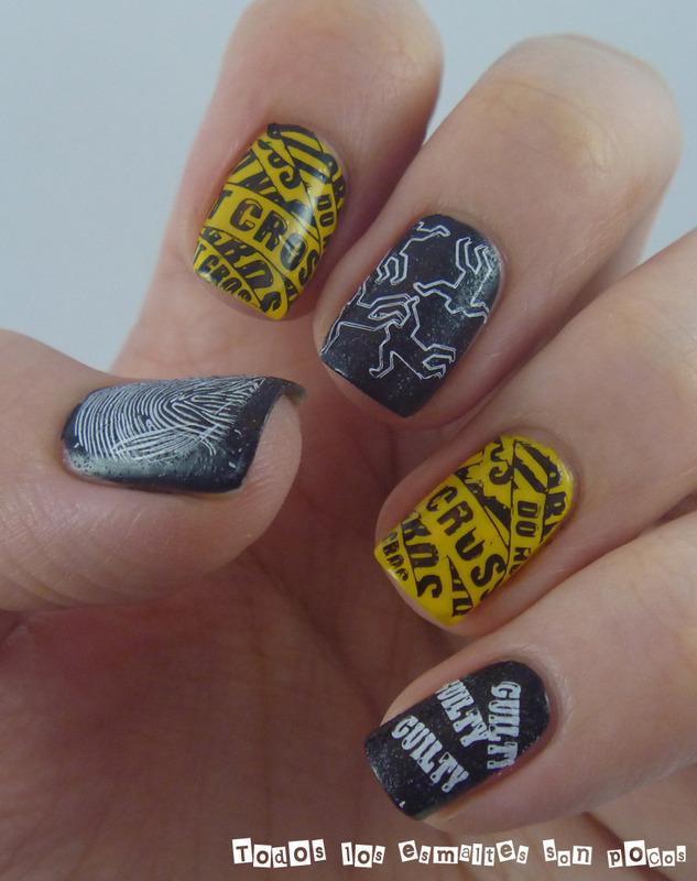 Guilty nail art by Maria