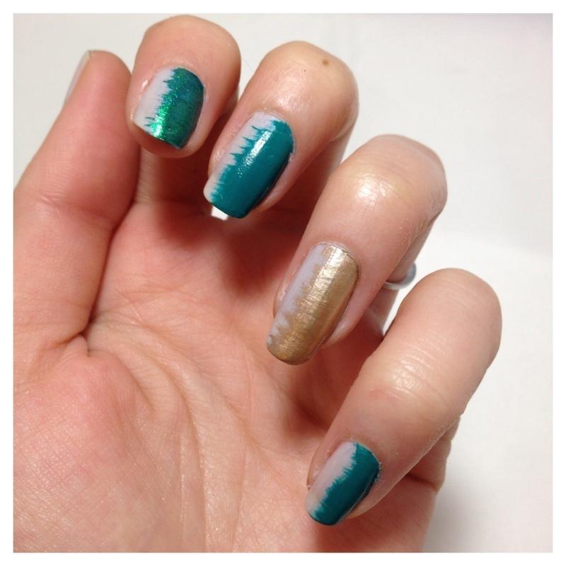 Manucure double face nail art by Dju Nails