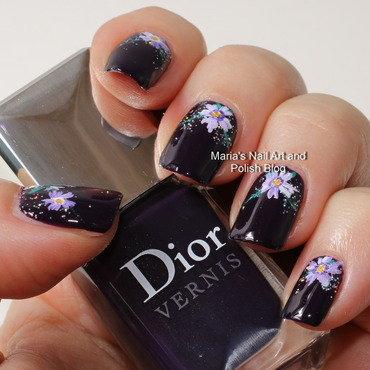 "Confetti poison nail art by Maria ""Maria's Nail Art and Polish Blog"""