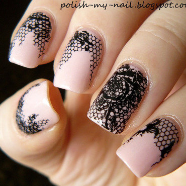 Kiko 216 satin pastel pink   lace foil 3 thumb370f
