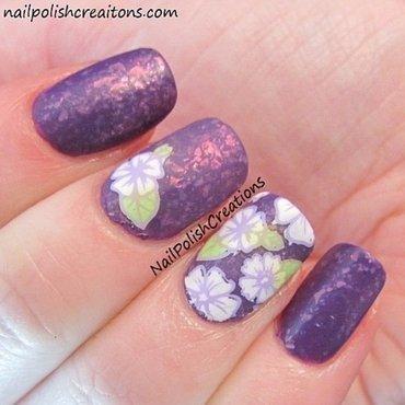 Spring Floral Nail Art nail art by Lisa