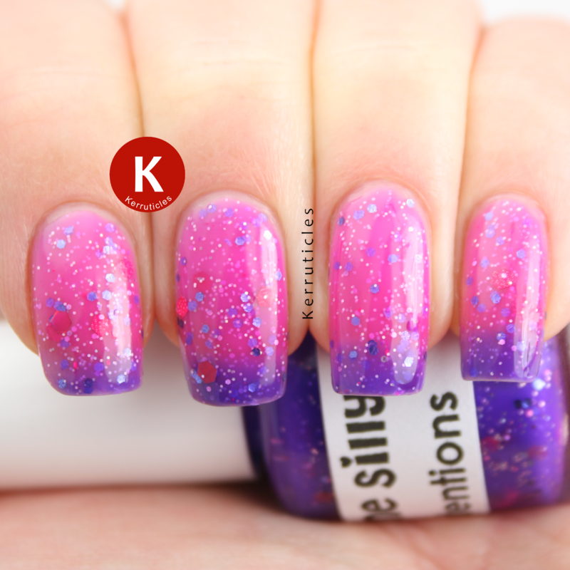 polish me silly Grape Expectations Swatch by Claire Kerr