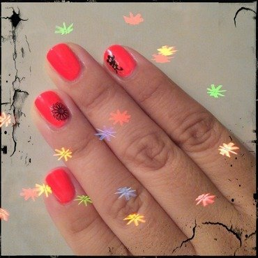 Stickers nail art by Lizeth