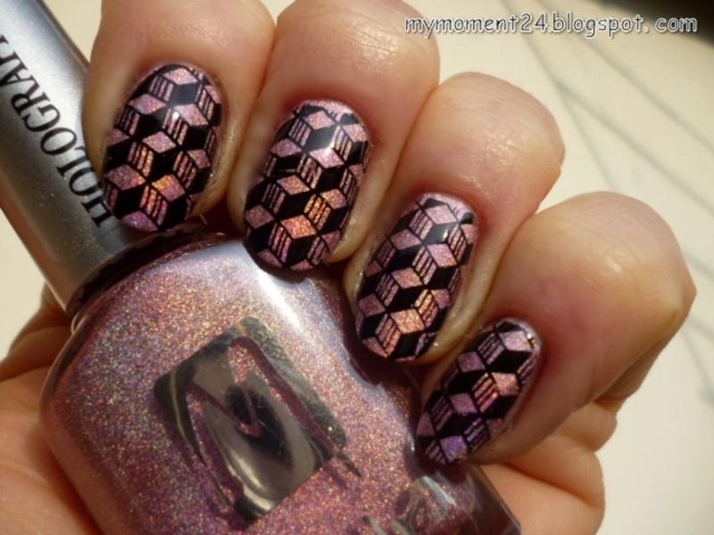 Moyra III. nail art by T. Andi