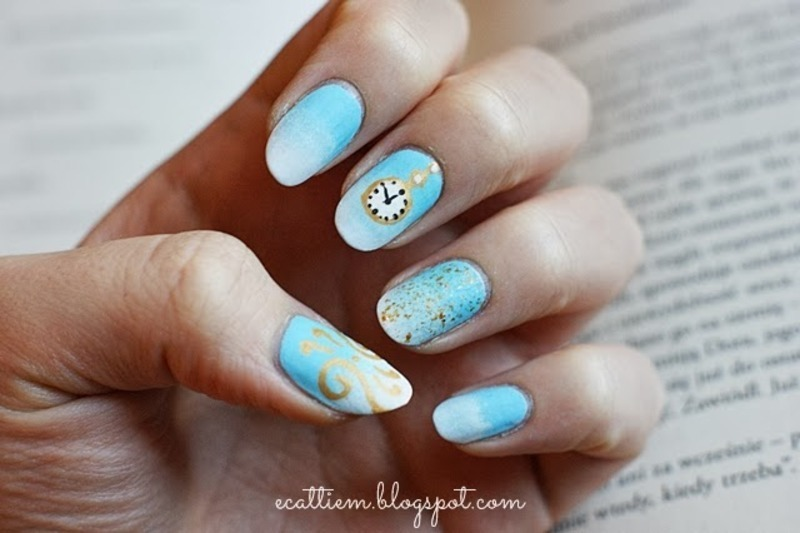 The Time Keeper nail art by ecattiem