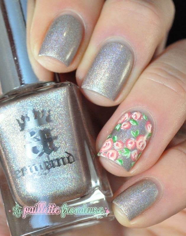 sweet roses nail art by nathalie lapaillettefrondeuse