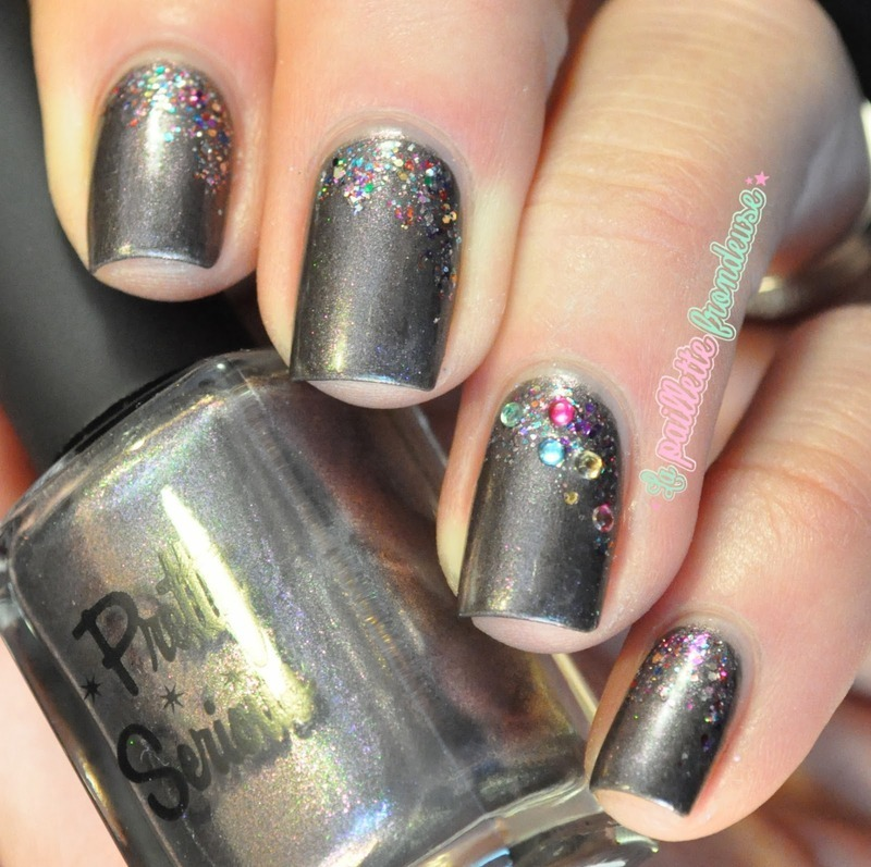 colorful sparkles nail art by nathalie lapaillettefrondeuse