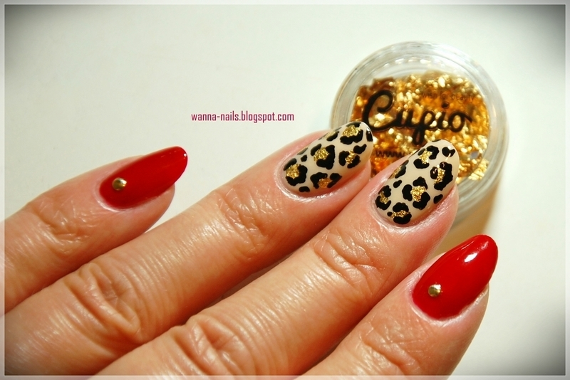 Glam nails nail art by Oana Chiciu
