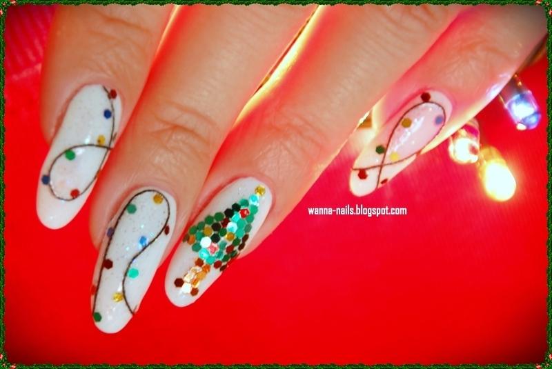 Glitter overload nail art by Oana Chiciu