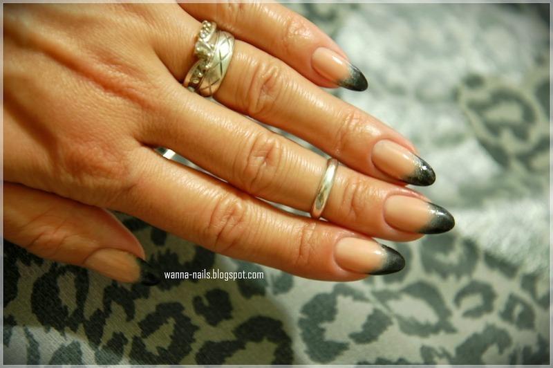 Inspired by Rihanna 1 nail art by Oana Chiciu