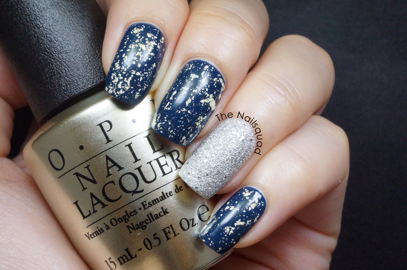 OPI It's frosty outside, OPI Mariah Carey 18k White Gold & Silver Top Coat, and Chanel Magic Swatch by thenailsquad