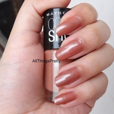 Maybelline Colorshow silk stockings Swatch by ash89