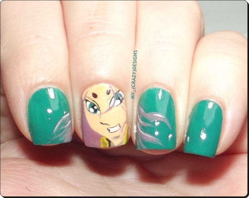 Aries nails nail art by Mycrazydesigns