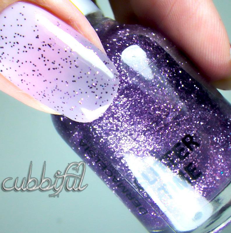 Gradient + Glitter = Perfect Combo nail art by Cubbiful