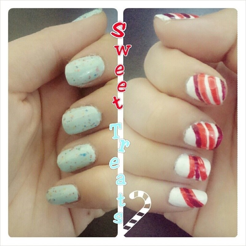 Sweet Treats nail art by JingTing Jaslynn