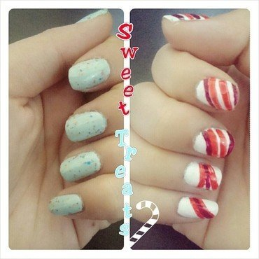 Sweet Treats nail art by JingTing Jaslynn