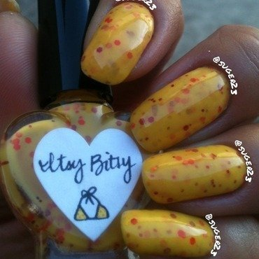 The Hungry Adian Itty Bitty Bikini  nail art by Genevieve  Clay-Poor