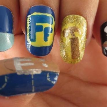 I Can Fix It! nail art by Pixel's Polish