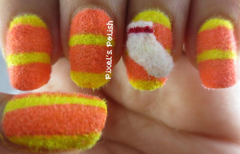 Code 2319! nail art by Pixel's Polish