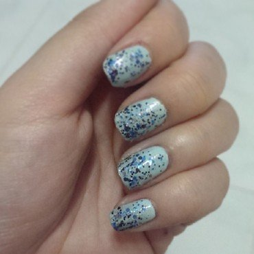 China Glaze Kinetic Candy and Sayuri Mizuiro Swatch by JingTing Jaslynn