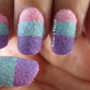 Cotton Candy Dreams nail art by Pixel's Polish