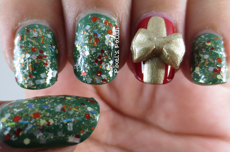 Merry Christmas! nail art by Pixel's Polish