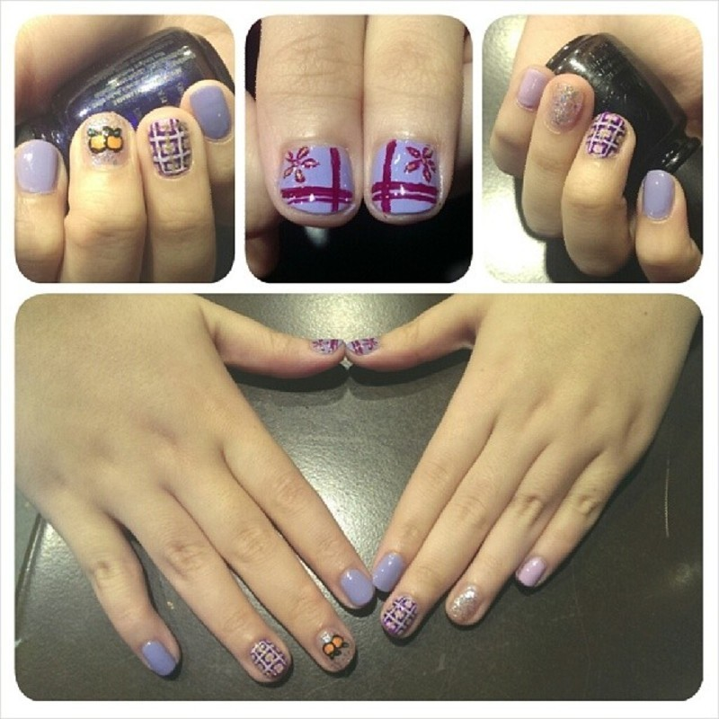 Customised set nail art by JingTing Jaslynn