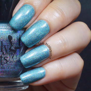 Girly Bits Get Weaponized Swatch by thenailsquad