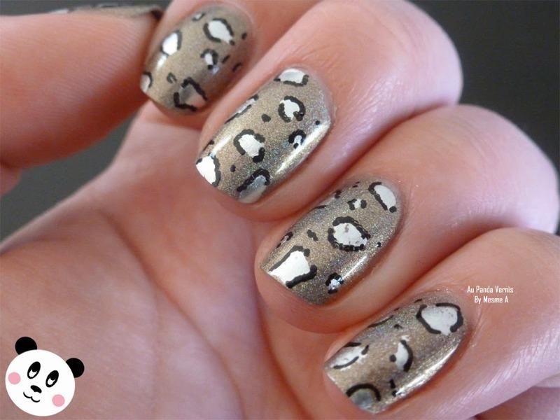 Graou nails nail art by Amandine