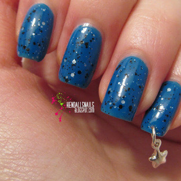 Nail Piercing nail art by Julia Friedel