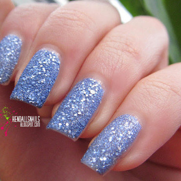 OPI Liquid Sand Kiss Me At Midnight Swatch by Julia Friedel