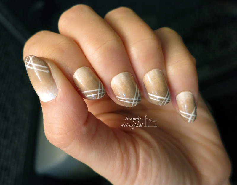 Neutral gradient with french x tips nail art by simplynailogical neutral gradient with french x tips nail art by simplynailogical prinsesfo Image collections