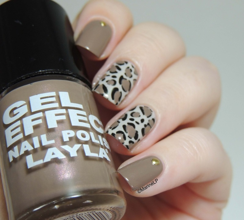 Feline nails nail art by Marine Loves Polish