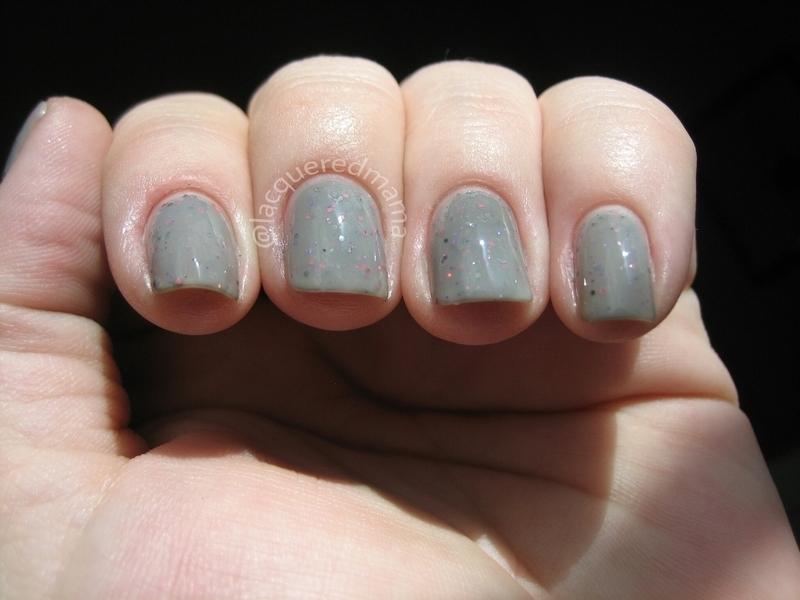 Lovey Dovey nail art by Jennifer Collins